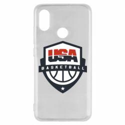 Чехол для Xiaomi Mi8 USA basketball