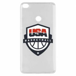 Чехол для Xiaomi Mi Max 2 USA basketball