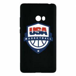 Чехол для Xiaomi Mi Note 2 USA basketball