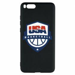 Чехол для Xiaomi Mi Note 3 USA basketball