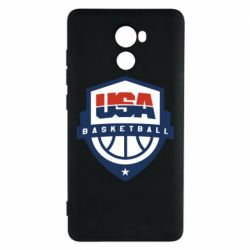 Чехол для Xiaomi Redmi 4 USA basketball
