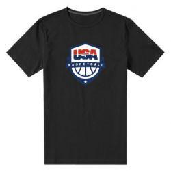 Чоловіча стрейчева футболка USA basketball