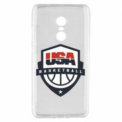 Чехол для Xiaomi Redmi Note 4 USA basketball