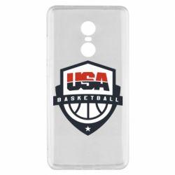 Чехол для Xiaomi Redmi Note 4x USA basketball