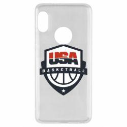 Чехол для Xiaomi Redmi Note 5 USA basketball