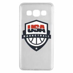 Чехол для Samsung A3 2015 USA basketball