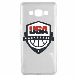 Чехол для Samsung A5 2015 USA basketball