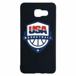 Чехол для Samsung A5 2016 USA basketball