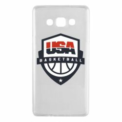 Чехол для Samsung A7 2015 USA basketball