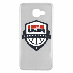 Чехол для Samsung A7 2016 USA basketball