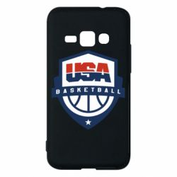 Чехол для Samsung J1 2016 USA basketball