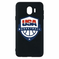 Чехол для Samsung J4 USA basketball