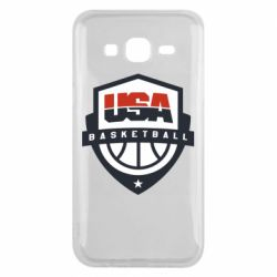 Чехол для Samsung J5 2015 USA basketball