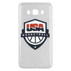 Чехол для Samsung J5 2016 USA basketball