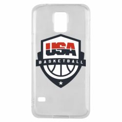 Чехол для Samsung S5 USA basketball