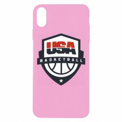 Чехол для iPhone Xs Max USA basketball