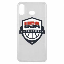 Чехол для Samsung A6s USA basketball