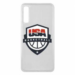 Чохол для Samsung A7 2018 USA basketball