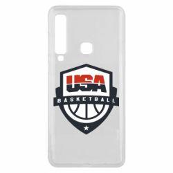 Чехол для Samsung A9 2018 USA basketball
