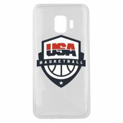 Чехол для Samsung J2 Core USA basketball