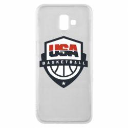 Чехол для Samsung J6 Plus 2018 USA basketball