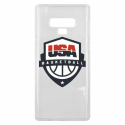 Чохол для Samsung Note 9 USA basketball