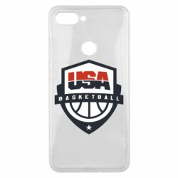 Чехол для Xiaomi Mi8 Lite USA basketball