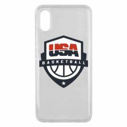 Чехол для Xiaomi Mi8 Pro USA basketball