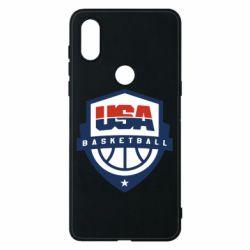 Чехол для Xiaomi Mi Mix 3 USA basketball