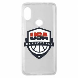 Чехол для Xiaomi Redmi Note 6 Pro USA basketball