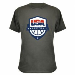 Камуфляжная футболка USA basketball