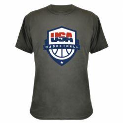 Камуфляжна футболка USA basketball