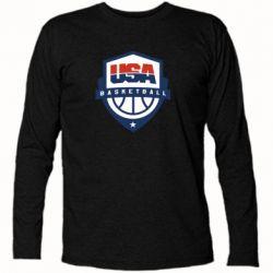 Футболка с длинным рукавом USA basketball