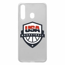 Чехол для Samsung A60 USA basketball