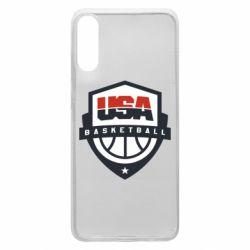 Чохол для Samsung A70 USA basketball