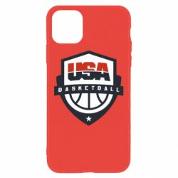 Чехол для iPhone 11 USA basketball