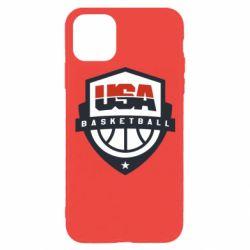 Чехол для iPhone 11 Pro USA basketball