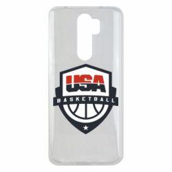 Чехол для Xiaomi Redmi Note 8 Pro USA basketball