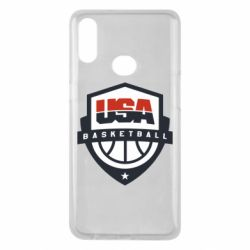 Чехол для Samsung A10s USA basketball