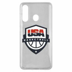 Чехол для Samsung M40 USA basketball