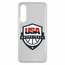 Чехол для Xiaomi Mi9 SE USA basketball