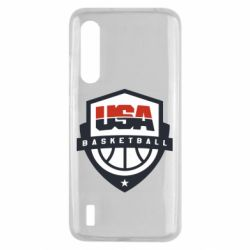 Чехол для Xiaomi Mi9 Lite USA basketball