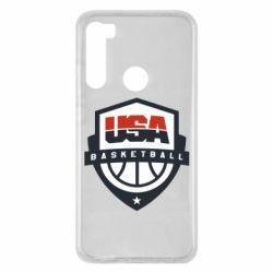 Чехол для Xiaomi Redmi Note 8 USA basketball