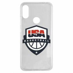 Чехол для Xiaomi Redmi Note 7 USA basketball