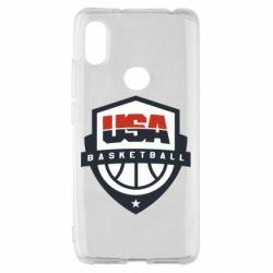 Чехол для Xiaomi Redmi S2 USA basketball