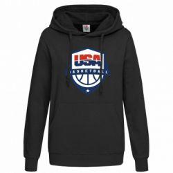 Женская толстовка USA basketball