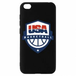 Чехол для Xiaomi Redmi Go USA basketball