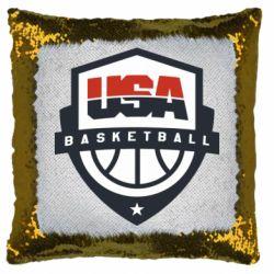 Подушка-хамелеон USA basketball