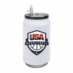 Термобанка 350ml USA basketball
