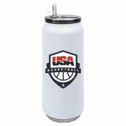 Термобанка 500ml USA basketball
